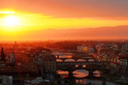 Top 5 of the most romantic places in Florence