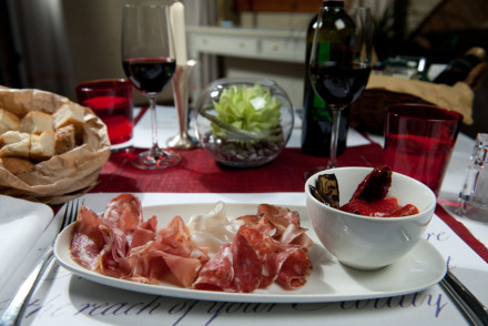 Tuscan Snack in Florence Italy