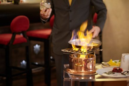 flambe dishes florence italy