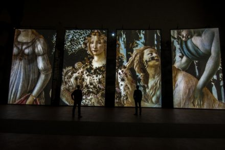 Multimedia exhibitions in Florence