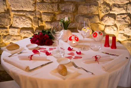 Valentine's Day dinner in Florence by candlelight