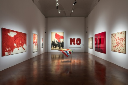 Dawn of a Nation. From Guttuso to Fontana and Schifano at Palazzo Strozzi in Florence