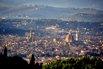 Florence and surroundings between villages and scenarios of great charm