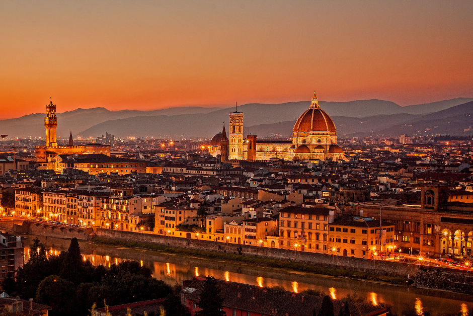 Nightlife in Florence Italy