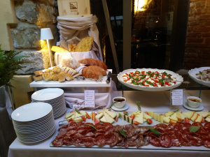 The 15th of August dinner in Florence