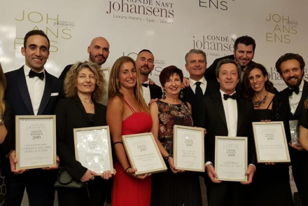 Condé Nast Johansens Awards 2019 at the Brunelleschi Hotel