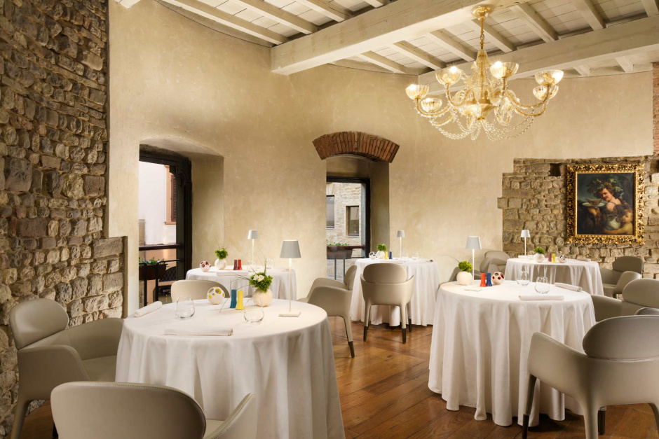 1 Michelin star restaurant in Florence Italy