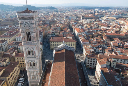 The Giotto's Bell Tower in Florence