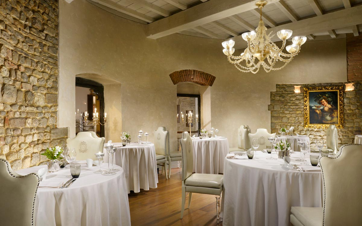 Luxury restaurant florence for Ristoranti di design